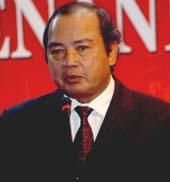 Gubernur BI Burhanuddin Abdullah