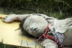 Korban Gempa Cina