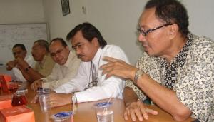 Diskusi bersama Kadin Provinsi Kepri