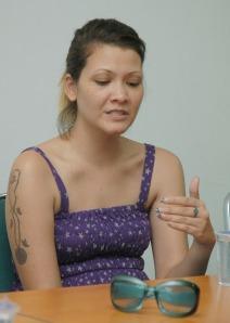 Melanie Subono di Tribun Batam