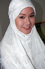 Foto Zaskia Mecca yang diambil dari friensternya