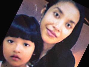 Nani Hidayati dan Silvia, putrinya. Keduanya termasuk di antara 11 korban keganasan Ryan
