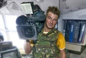 Stan Storimans, kameramen televisi RTL Belanda yang tewas terkena mortir dari pesawat tempur Rusia di Kota Gori, Georgia, Selasa ( 12/8/2008 ).