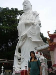 Patung Dewi Kwan Im di KTM Resort, Tanjungpinggir