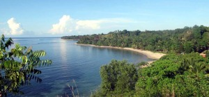 Pantai Kora-kora di Minahasa