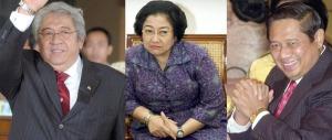 Taufik, Mega, dan SBY