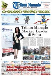 Tribun Manado Terbanyak dibaca di Sulut