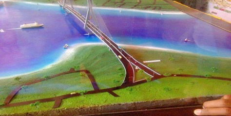 Maket Jembatan Palmerah (MediaNTT.com)